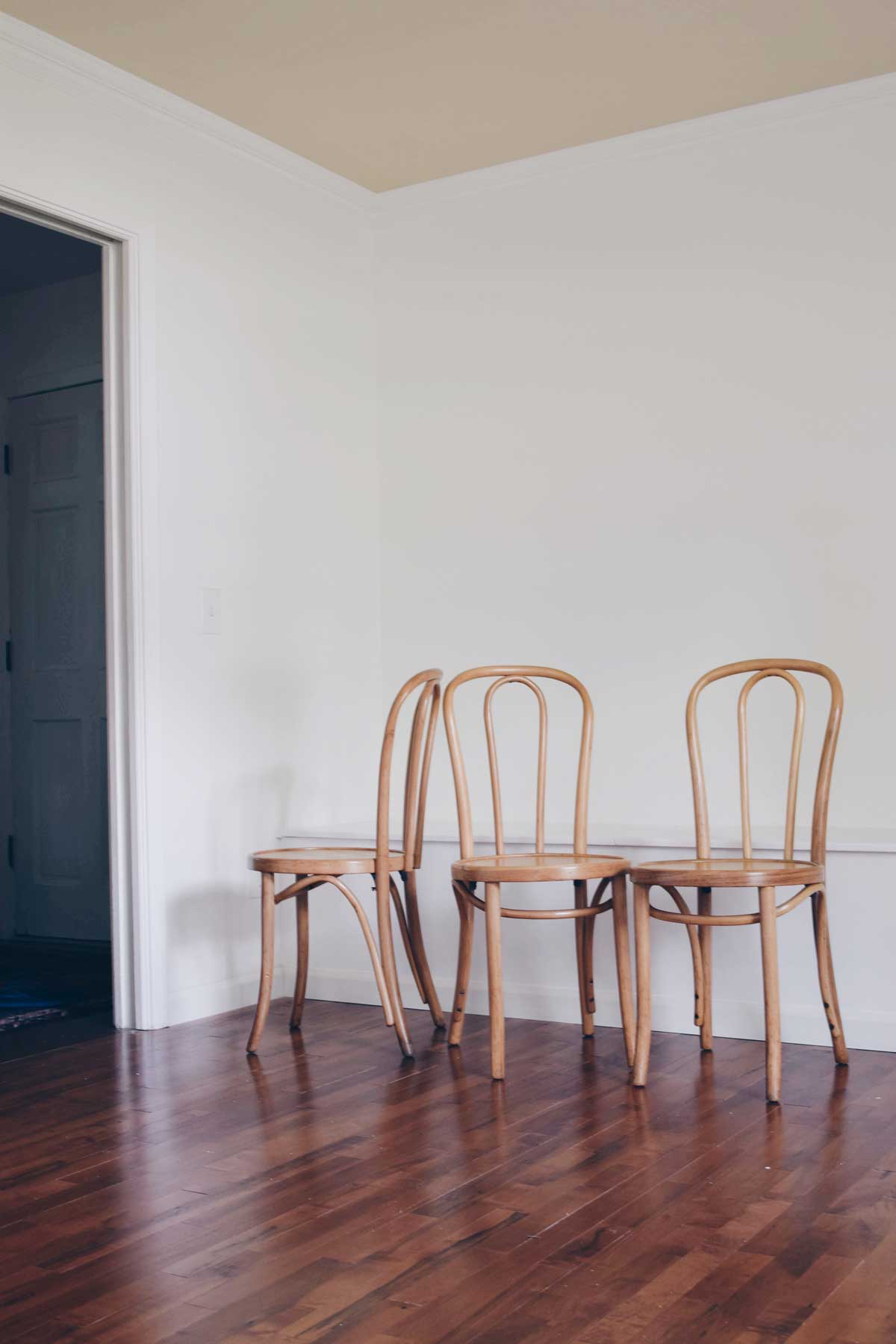 REFINISHING BENTWOOD CHAIRS