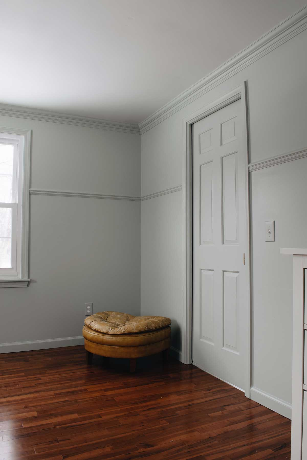 PAINTING WALLS AND TRIM THE SAME COLOR