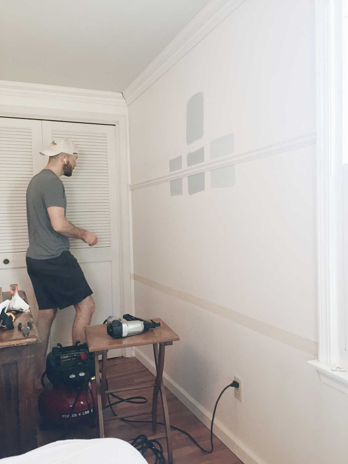 PAINTING WALLS AND TRIM THE SAME COLOR – Rachel Schultz