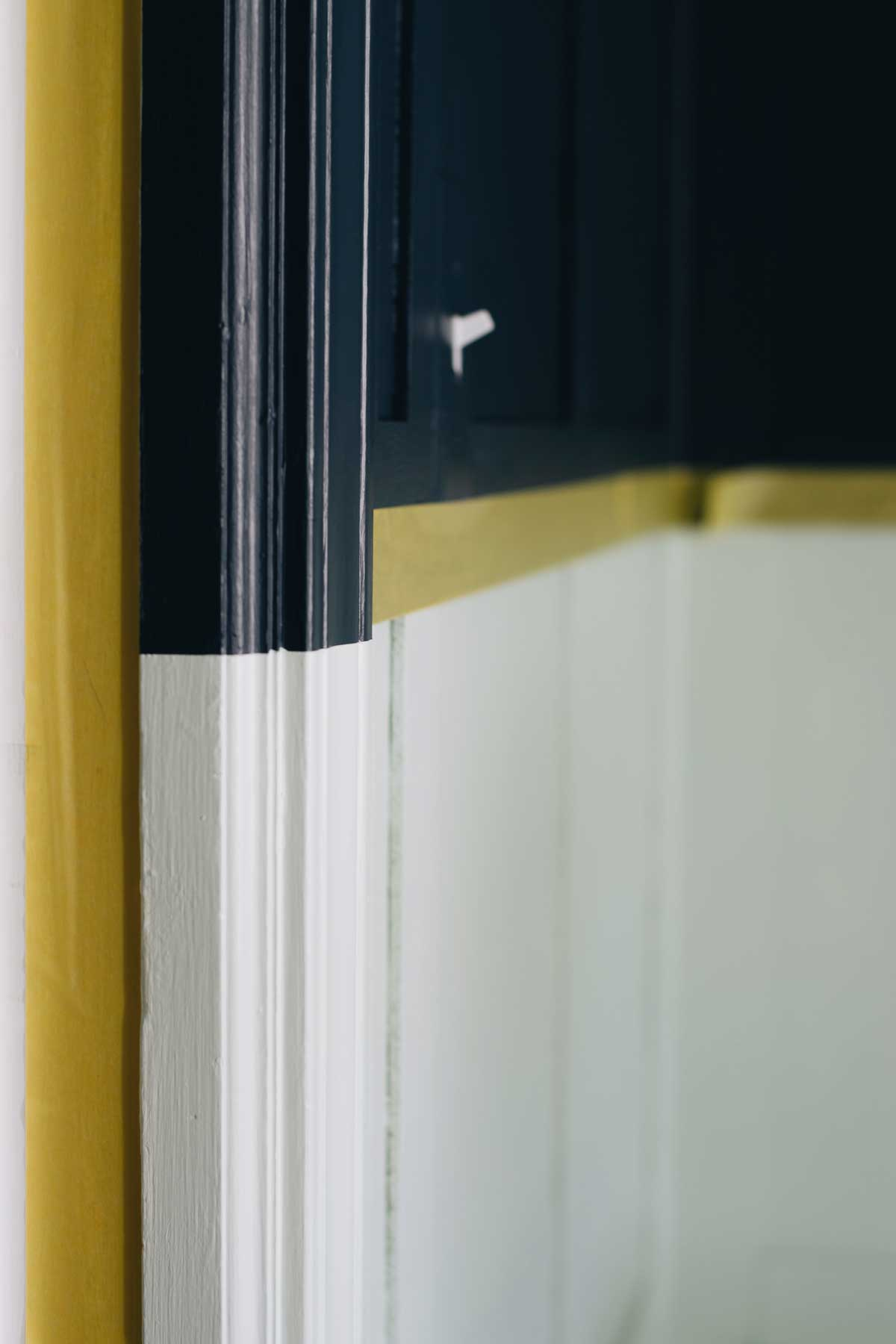 Rachel Schultz Wall Paneling Diy And Colorblock Painting