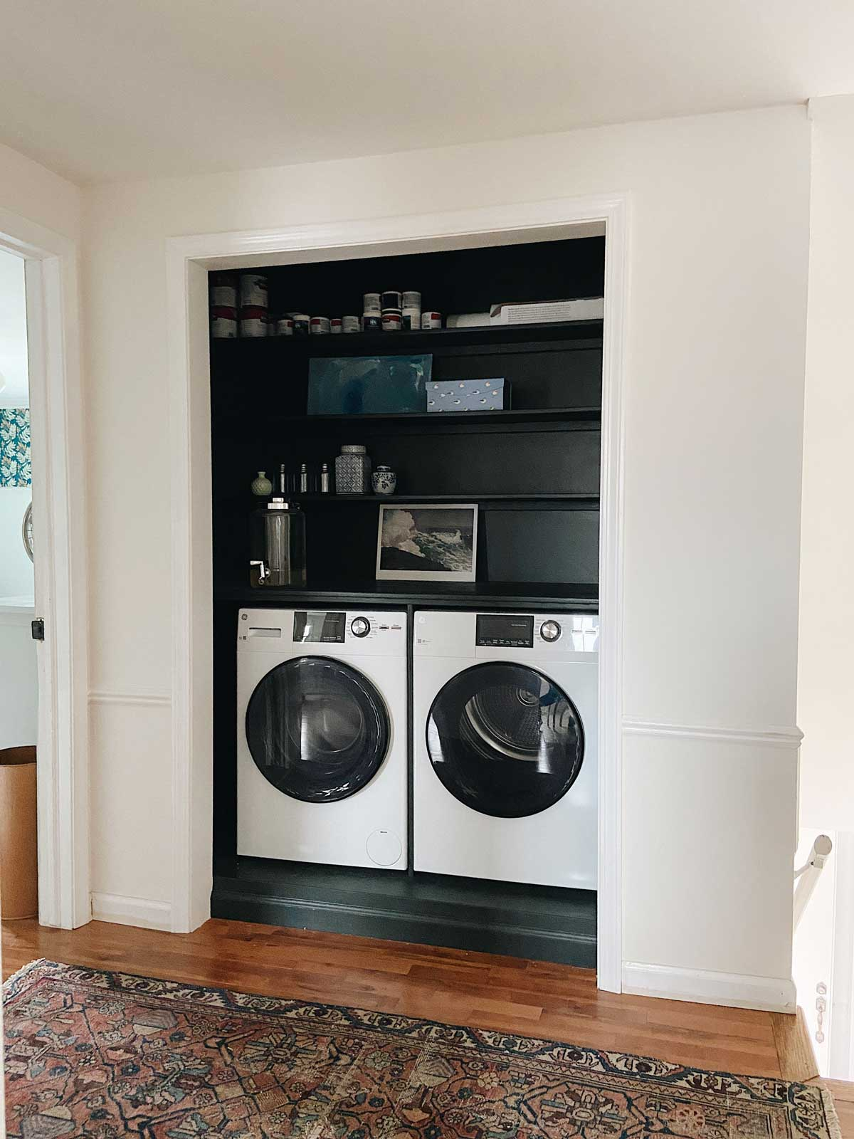 CREATING A SECOND FLOOR LAUNDRY CLOSET